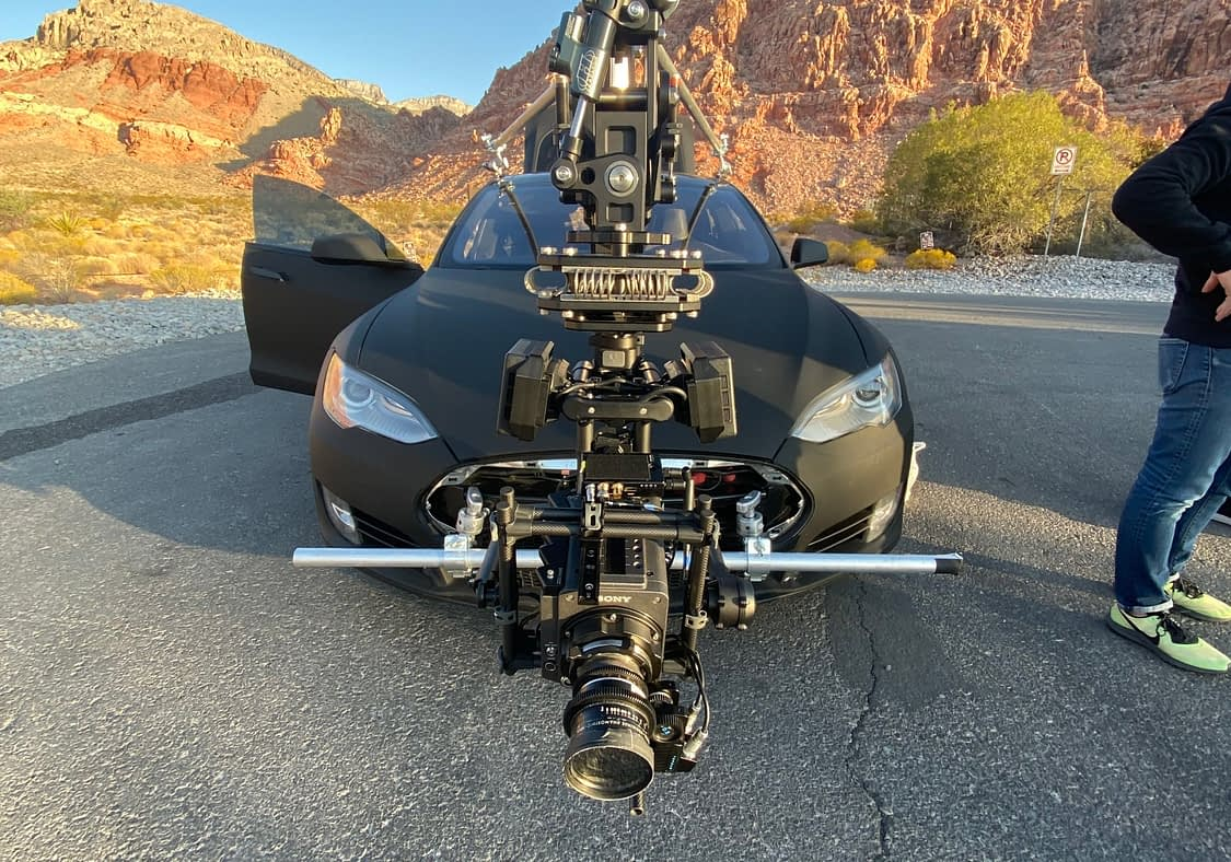 Tesla Black Arm and MoVi Pro